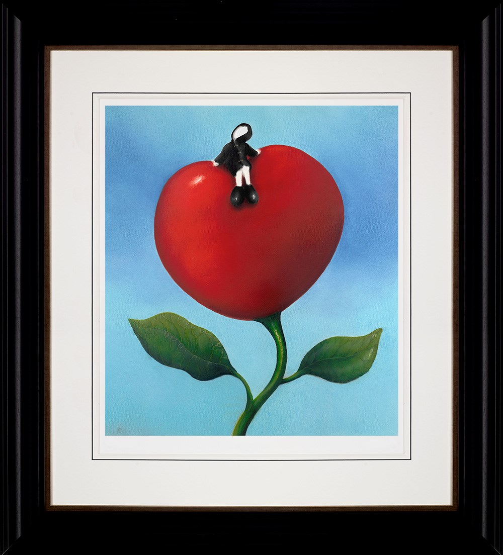 Love and Life by Mackenzie Thorpe - Limited Edition on Paper sized 14x16 inches. Available from Whitewall Galleries